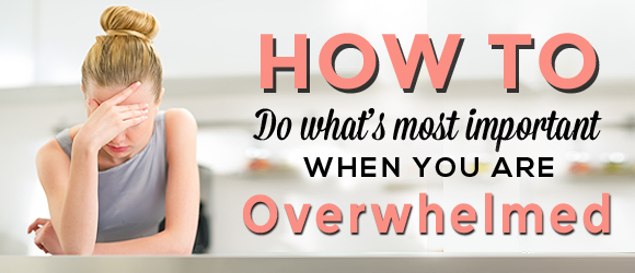 Attitutde-How To Overwhelm